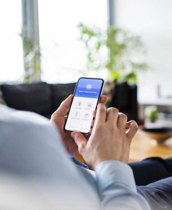 Smartphone Home App